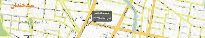 AutoKhandan-Map